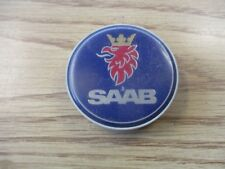 one Saab alloy wheel center cap hubcap insert