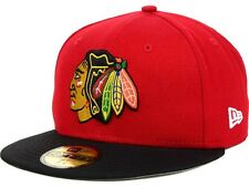 Chicago Blackhawks Cap NHL Eishockey New Era 59fifty Kappe Size 7 1/2  59,6 cm