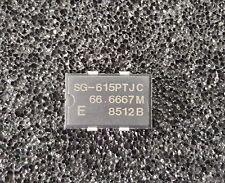 SEIKO Crystal Oscillator XO 66.6667 MHz 5V TTL 4-Pin SMD *** NEW *** Qty.5