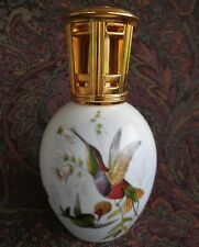 Lampe Berger Limoges Paris Porcelain Fragrance Diffuser with Hummingbirds