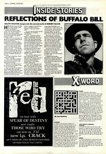 """25/4/87PT10 Single Advert 7X5"""" The Red, Those Who Try (on Tour With Spear Of De."""