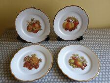 Seltmann Weiden Bavaria Fruit Plates X 4