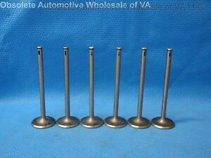 1923 Auburn 43 Continental 6Y INTAKE VALVE SET 6 Valves Cardway Touring USA OEM