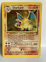 Charizard Base Set 2 Holo 4/130 Good Condition 1999 WOTC