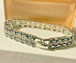 Exclusive Nordstrom 50ct. Double Alexandrite Cuff Bracelet