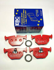 BMW E46 M3 3.0 3.2 FRONT & REAR BRAKE PADS RED STUFF (MADE IN ENGLAND)
