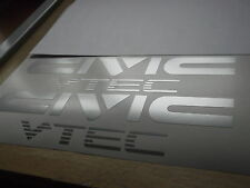 CIVIC VTEC Sticker/Decal  LARGE x2