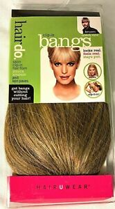HairDo Bangs Jessica Simpson Ken Paves Hair Extensions Buttered Toast