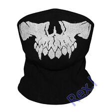 DJ Skully Half Face Mask Cosplay