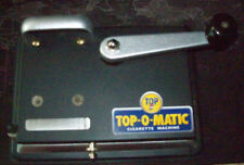 Top-O Matic Cigarette Rolling Machine Vintage Used (Small Yellow Label)