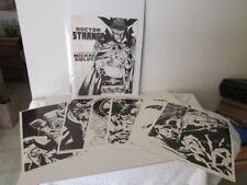 Dr Strange Portfolio by Michael Golden Mint # 1 Comic Art
