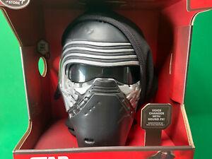 Disney Store Star Wars Kylo Ren Voice Changing Mask Helmet BNIB See Description