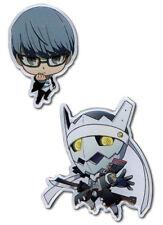 **Legit** Persona 4 SD Yu & Fool Arcana Authentic Metal Pin Set #50155