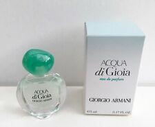 Giorgio Armani Acqua Di Gioia Eau De Parfum mini Perfume, 5ml, Brand New in Box