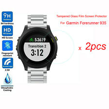 2X Tempered Glass Film Screen Protector for Garmin Forerunner 935 Ultra Thin New