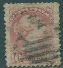 Canada #40 1877 10c Small Queen Used  Cat $90.00                     s114