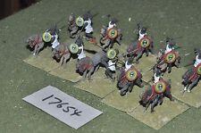 25mm roman era / numidian - cavalry 10 cavalry - cav (17654)