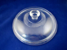 Pyrex Replacement Part Lid Top Clear Glass 406 Round 7.25 Inches Old Style