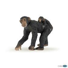 *NEW* PAPO 50012 Chimpanzee with Baby - 5.5cm