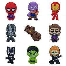 50PCS Avengers Infinity War Shoe Charms Shoes Accessories Kids Party Gifts