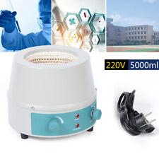 1000W 5000ML Elektrisch Labor Magnetische Rührmantel Magnetrührer Heizmantel DHL