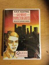 """H.R.F. KEATING """"Go West, Inspector Ghote"""" Unabridge Audio Book Cassettes"""