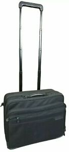 Briggs Riley Baseline Rolling Cabin Bag Nylon Carry On Suitcase BRW13 Black