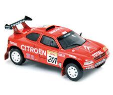 Norev Citroën ZX Rally 1996 1:43 #201 Lartigue / Perin 1st Granada - Dakar Rally