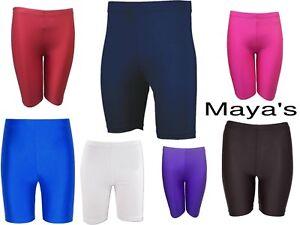 Lycra Shorts Kids/Boys/Girls Cycling Sports Athletics Shorts Dancing PE School