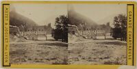 Grande Chartreuse Francia Foto Stereo PL28Th1n9 Vintage Albumina c1870