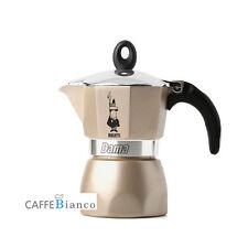Bialetti Moka Express Stovetop Espresso Maker Pot Coffee Latte Gold 3 CUP