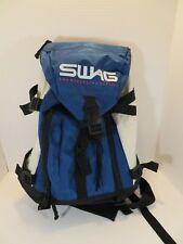 Sway SnowBoarding Apparel Blue, White, & Black Backpack