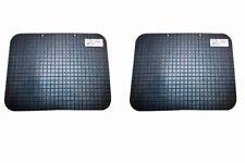 Tappetini in gomma universali per auto 2pz antiscivolo tappeti macchina pvc neri