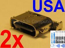 2x Micro USB Charging Port For Motorola Moto Z Play Droid XT1635-01 XT1635-02