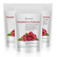 Raspberry Ketone Fat Burner Capsules, STRONG Carb Blocker Tablets - Slimming