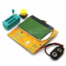 LCD 12864 Mega328 Transistor Tester Diode Triode Capacitance ESR LCR Meter L50