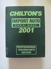1997 - 2001 Honda Civic Accord Toyota Supra camry BMW M3 Chilton Import Manual