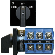 Blue Sea 9019 Switch, AC 240VAC 63A OFF +2 Positions
