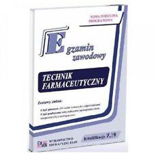 Egzamin zawodowy Technik farmaceutyczny Czyzewska