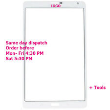 Samsung Galaxy TAB S 705 SM-T705 LCD Front Screen Outer Glass Replacement White