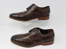 Florsheim Men's shoes Castellano Wing Tip Brown Leather 14137-200  sz 8.5 D
