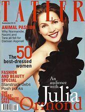 TATLER SEPTEMBER 2000 JULIA ORMOND COVER