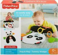 Fisher-Price FXB99 Baby Hug and Play Tummy Wedge, Panda