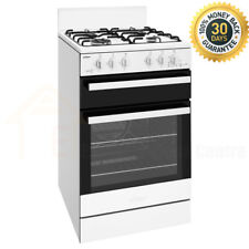 Chef 54cm Natural Gas/Gas Freestanding Oven/Stove CFG503WBNG Home Kitchen