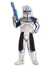 "STAR Wars KID Clone Wars Trooper Cap Costume REX s2, L, età 8-10, altezza 4' 8"" - 5'"