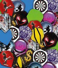 RED DRAGON Bargain Assorted Dart Flights - 50 Sets or 25 Sets