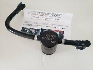 2007-2014 Mustang Shelby GT500 JLT Oil Separator Black Passenger Side 3012P-B