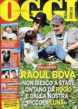 Oggi 2017 17.Raoul Bova & Rocio Munoz Morales,Valentina Greggio,Clotilde Courau