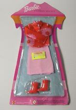 VINTAGE 2001 MATTEL BARBIE FASHION AVENUE Kimono Vestito Con Gonna Top Stivali