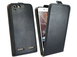 Handytasche für Lenovo Vibe K5 Case Cover Hülle Zubehör Bumper Tasche in Schwarz